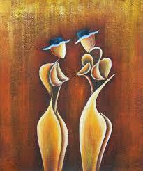 friends modern art oil painting
