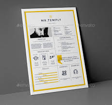 Best Resumes 2017 Custom Best Free Resume Templates In PSD And AI In 40 Colorlib