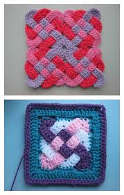 Crochet Patterns Interesting Beautiful Celtic Knot FREE Crochet Patterns