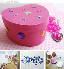 Gift Box Decoration Ideas GCC CRAFT IDEAS Gifts and Decoration Decorated heart box 30