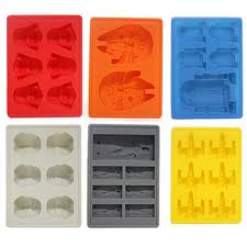 Decorative Ice Cube Trays 60pcs Silicone Star War Ice Cube Trays Cooking Carving Mold Mould 7