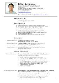 Curriculum Vitae Canada Resume Samples Sample Of Basic Best