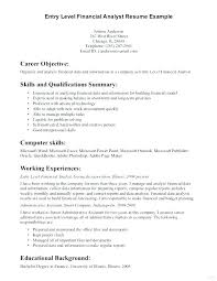 Example Good Resume Best Good Resume Objective Statement Simple Statement Of Work Sample