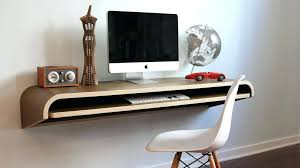 wall mounted office desk. Simple Wall Cheap Small Computer Desk Top Class Floating Wall  Mounted Office Fold Down  With A