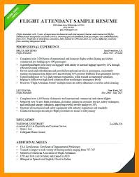 Flight Attendant Resume Example | Kicksneakers.co