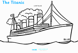 Small Picture Drawn titanic coloring page Pencil and in color drawn titanic