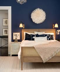 Navy blue rooms  Paint color is Stunning by Benjamin Moore. Also  considering mysterious as accent wall Sway Studio