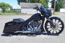 custom harley bagger motorcycles built by iron hawg cc custom