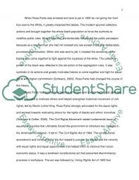 rosa parks research paper example topics and well written essays rosa parks essay example