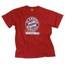 T-Shirt Basketball Logo rot | Offizieller FC Bayern Fanshop