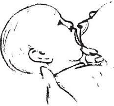 Bebelusul adoarme in timpul alaptarii
