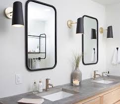 bathroom vanity sconce. Beautiful Sconce Cedar U0026 Moss Cypress Sconces  Modern Industrial Bathroom  Vanity Lighting Ideas For Sconce T