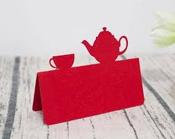 Us 10 48 25 Off Alice In Wonderland Wedding Tent Place Cards Birthday Baby Bridal Shower Tea Party Sitting Table Name Number Cards Placecards In