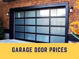 insulated garage door cost appealing insulated glass garage doors with best glass garage door cost ideas
