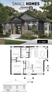 Cottage Design Plans 2 Bedroom Rustic Modern Home Plan Split Entry Large