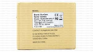 Модульная курсовая fpv камера runcam split с возможностью записи  Внутри в мягкой поролоновой форме уложены основная плата модуль камеры и wifi модуль