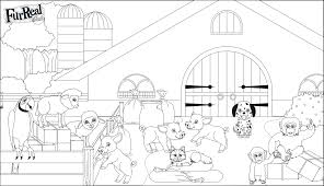 L Gant Coloriage Lego Friends Animaux