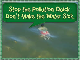 water pollution slogans stop the pollution quick don t make the water sick
