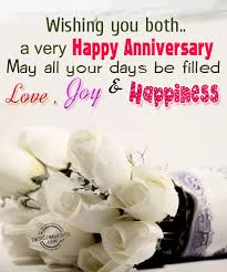 Marriage Anniversary Quotes Stunning Wishing You BothA Very Happy Anniversary May All Your Days Be