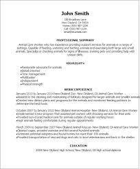 Care Worker Resume Is Your Resume As Powerful As It Should Be Use This Animal