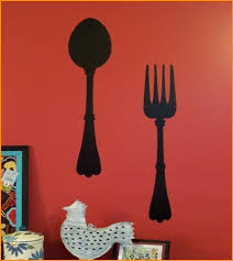 oversized fork and spoon wall decor fork and spoon wall decoration giant fork and spoon wall