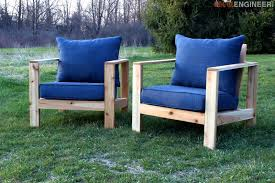 outdoor arm chair rogue engineer rh rogueengineer com diy modern outdoor chair plans diy outdoor lounge