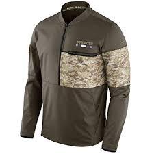 com Dallas 2017 Salute Men's Amazon Nfl Clothing Cowboys Service To Jacket Hybrid