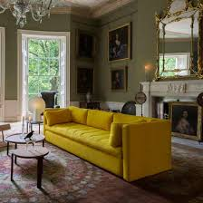 designer sofas for living room. livingetc loves hay, and this bold yellow number ticks all the boxes. we love single-section cushion, which is large enough to sleep on. designer sofas for living room