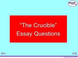 the crucible essay questions reputable writing aid from hq the crucible belonging essay questions essay topics