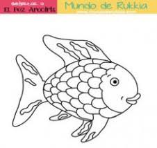 Fish Coloring Pages For Preschoolers Kids Printable Rainbow Fish
