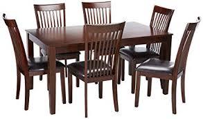 ashley furniture signature design mallenton rectangular 7 piece dining room set inclues table
