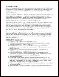 executive summary format example resume writing service from a  it