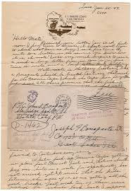 Letter World World War Ii Letter From A Foul Mouthed Misogynist Who Hated