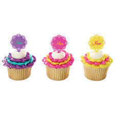 Happy Mothers Day Cake Or Cupcake Toppers