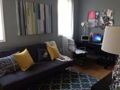office futon. Modern Home Office And Second Guest Room. Futon CB2. Rug Target
