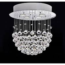 modern crystal silver chandelier
