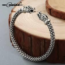 Cxwind <b>Retro Wolf Head</b> Bracelet Indian Jewelry <b>Fashion</b> ...