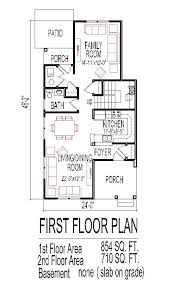 low budget cost affordable traditional home plans narrow lot tiny small 2 story 3 bedroom 2
