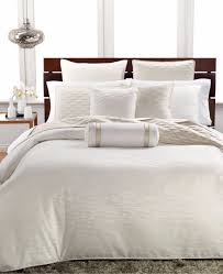 hotel collection woven texture king duvet cover bedding ivory 420 g915