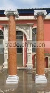 Modern Gate Pillar Design Unique And Modern Design White Stone Woman Gate Pillar