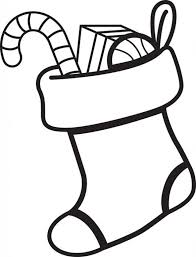 Small Picture Free Printable Christmas Stocking Coloring Page For Kids