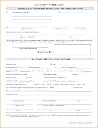 Best Ideas Of 9 Employment Verification Form Template Beautiful