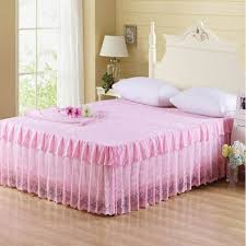 bed skirts for sale.  Bed Hot Sale Bed Skirts Pink Beige Purple Princess Lace Mattress Cover  150x200cm Full 180x200cm Queen Size Bedding Beautifulin Skirt From Home U0026 Garden On  And For O
