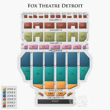 fabulous fox theater seating chart new fox theater st louis interactive seating chart