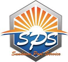 pool service logo. Sundown Pool Service - LOGO Logo