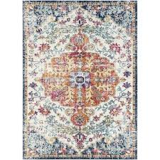 orange and blue area rug burnt colored rugs