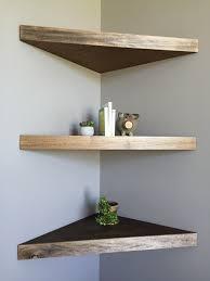 Corner Shelf Designs For Bathroom Diy Floating Corner Shelves Wood Corner Shelves Floating