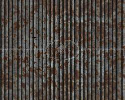 steel corrugated rusty metal texture seamless 09983