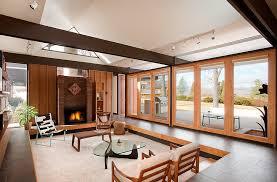 functional retro chic living room