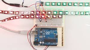 Arduino Led Light Projects Ws2812b Led Strip 16 4ft 300leds Individually Addressable